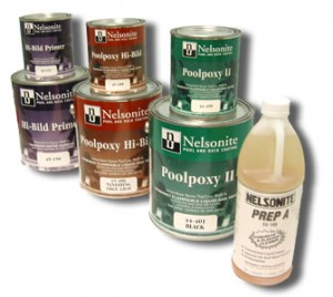 Sealants  An easy to use high gloss epoxy by Nelsonite poolpoxey II topcoat designed for two coat finish applications.